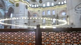 Сулеймание мечеть Стамбул Suleimanie Mosque Istanbul(На территории мечети находятся мавзолеи Султана Сулеймана Великолепного и Роксоланы ( Хюррем), 2013-07-24T17:38:11.000Z)