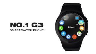 Video NO.1 G3 Smart Watch Phone Full Circular Dialer SMS Reminder Heart Rate Pedometer download MP3, 3GP, MP4, WEBM, AVI, FLV November 2018