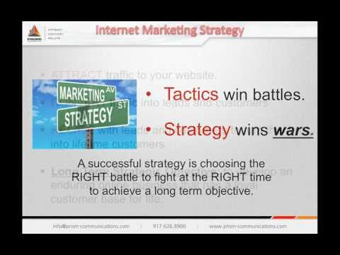 Internet Marketing Strategy - Attract, Convert, Relate