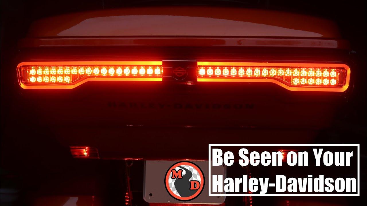 Brighter than Custom Dynamics? Harley Davidson Signature LED Tour-Pak Light Install