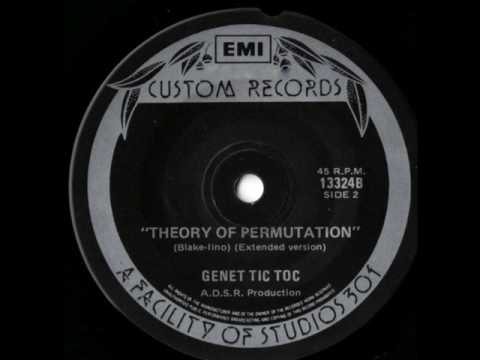 Genet Tic Toc : Darwin's Machines / Theory Of Permutation