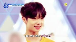 Produce X 101 Ep 11 Son Dongpyo Cut