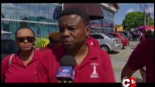 Tobago Teachers Protest