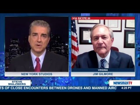 Malzberg | Gov. Jim Gilmore discusses Trump