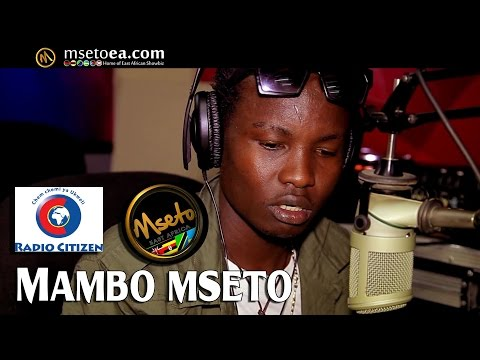 Chief Moses Live On Mambo Mseto (Radio Citizen) With Mzazi Willy Tuva.