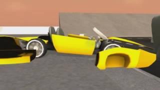 Мультики про машинки.  Мультик игра краш тест машин №1(Развивающее видео про машинки. Проверяем автомобили на безопасность. Машинки с манекеном попадают в аварии..., 2016-07-06T20:12:00.000Z)