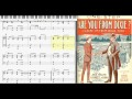 Are You From Dixie? ('Cause I'm From Dixie Too) by George Cobb, 1916