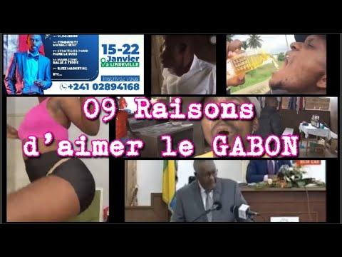 03min du peuple : 09 Raisons d'aimer le GABON 🇬🇦🇨🇲 (Steve FAH)