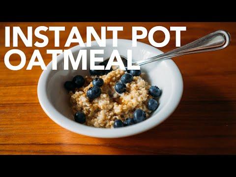 Fast Oatmeal Instant Pot