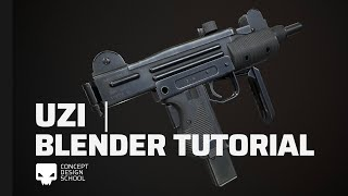 UZI | Blender Tutorial