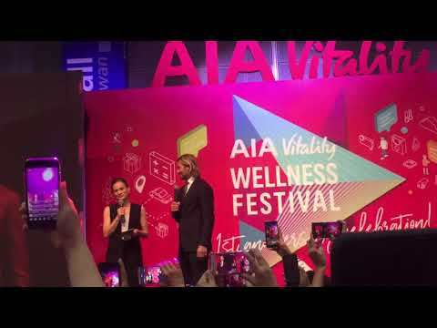 David Beckham as AIA Global Ambassador @ Kuala Lumpur Convention Centre