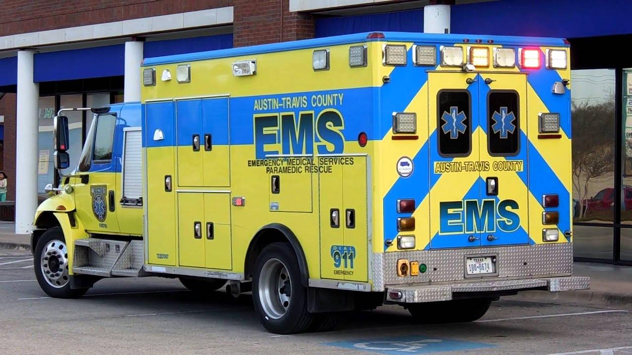 Austin-Travis County EMS Reserve Medic - YouTube