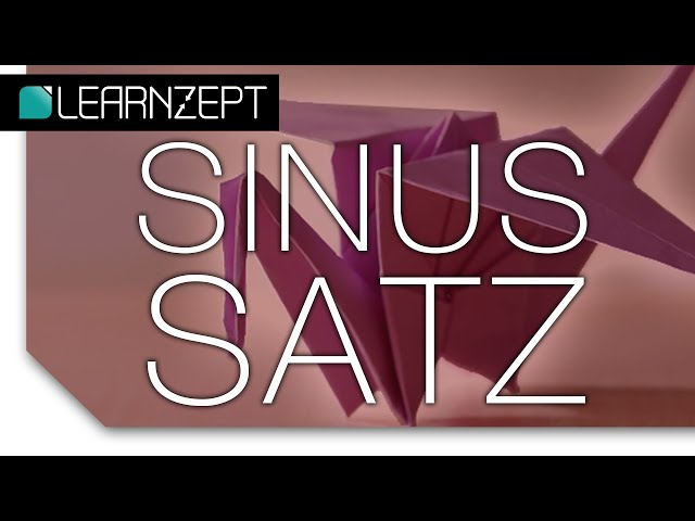 Sinussatz