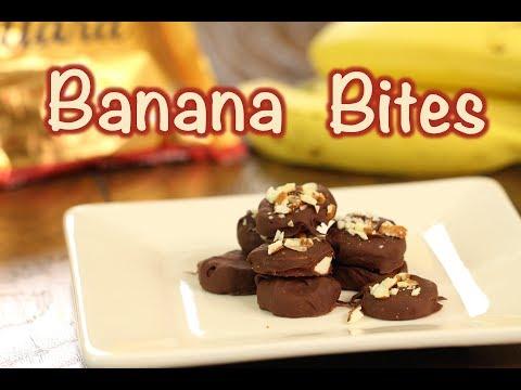 Chocolate Covered Banana Bites | Rockin Robin Cooks