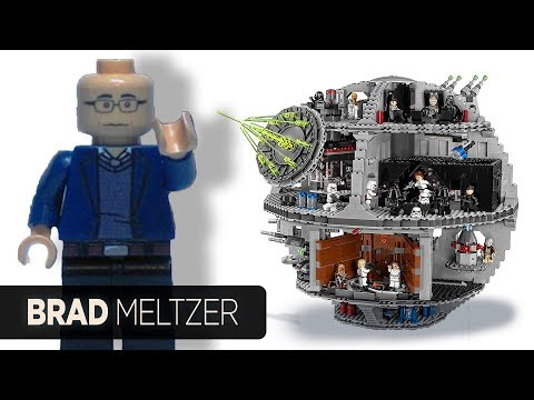Brad Meltzer Lego Death Star - Lego Star Wars - Lego Tragedy & Hope