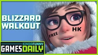Blizzard Walkout - Kinda Funny Games Daily 10.10.19