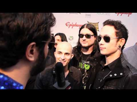TRIVIUM Interview at Revolver Golden Gods 2012 on Metal Injection