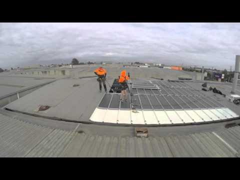 Installation of Solar Roof