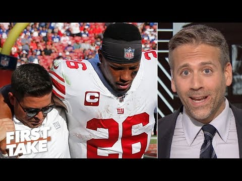 Saquon Barkley's injury may benefit the Giants in the long run - Max Kellerman   First Take