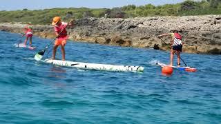 Scuola Federale ASD KiteSurf Taranto : Allenamento Under 12 SUP RACE