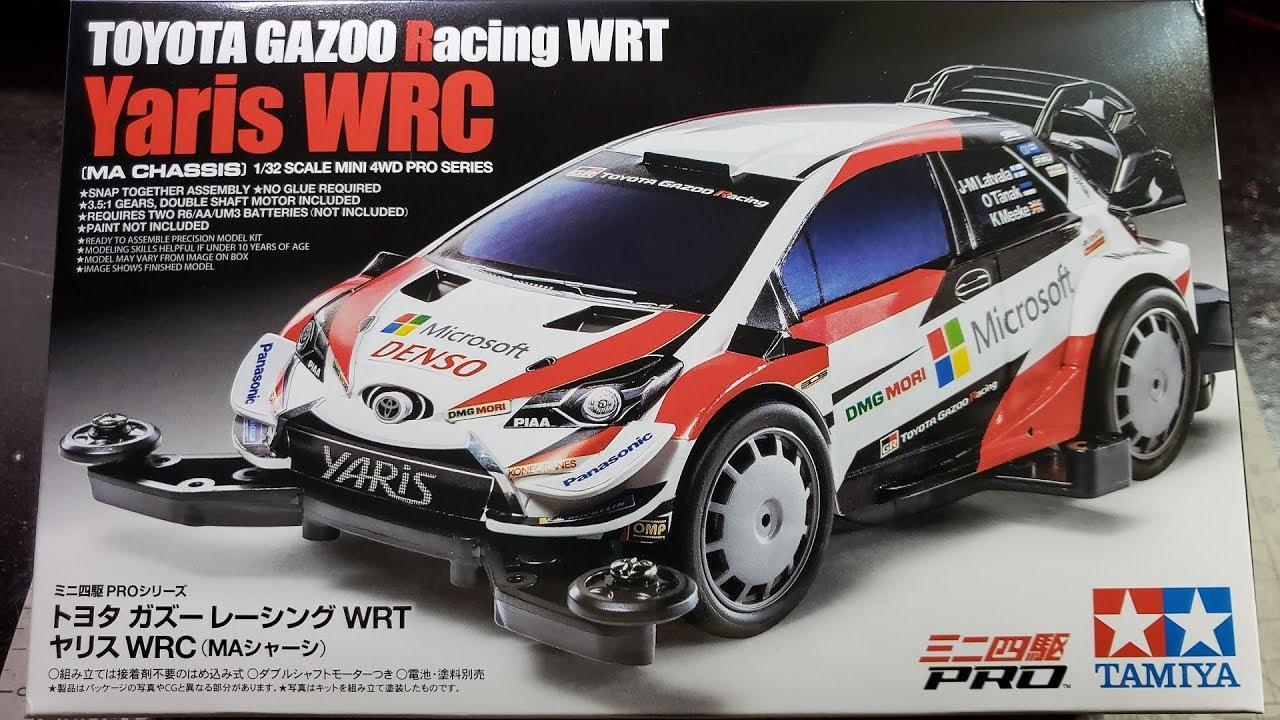 Tamiya Toyota Gazoo Racing Wrcyaris Wrc Ma Chassis