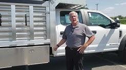 EBY Truck Bodies Flex Landscape Dump Body