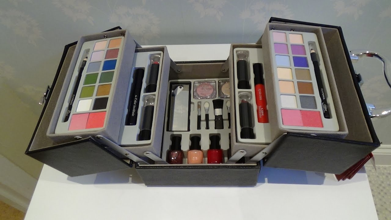 Make Up Set Color Insute Making Is Even Easier Cosmetics Case
