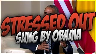 Obama Sings Stressed Out Twenty One Pilots