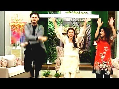 Stunning Osman Khalid Butt & Ainy Jaffri Dancing On Balu Mahi Song