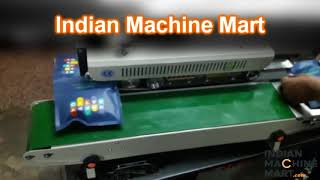 Continuous Band Sealer manufacturers and suppliers - Indian Machine Mart