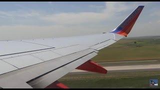 Southwest Airlines Boeing 737 Takeoff Runway 8 Denver International Airport KDEN / DEN