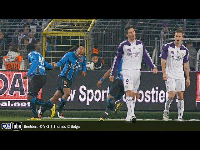 2010-2011 - Jupiler Pro League - 14. RSC Anderlecht - Club Brugge 2-2