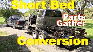2001 Chevy Long to Short Bed Conversion Parts & Garage Updates- 23 March 2017