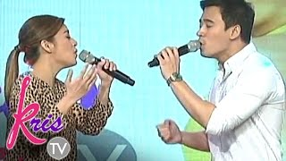 'Kulang Ako Kung Wala Ka' by Kyla and Erik on Kris TV
