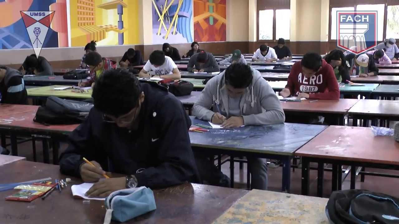 2014 examen de ingreso y bienvenida a los estudiantes por