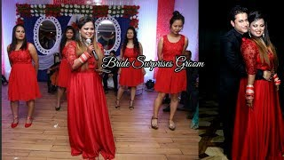Bride Surprises Groom with a beautiful Song | Indian Wedding