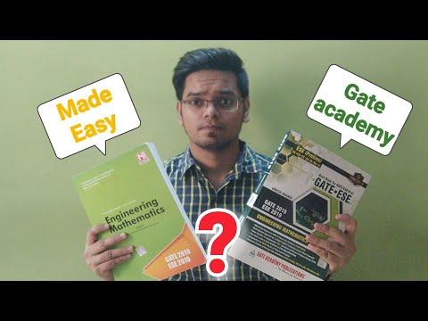 Gate Academy vs Made Easy book – REVIEW