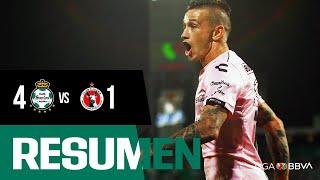 embeded bvideo Resumen J14 Apertura 2019: Santos 4-1 Xolos