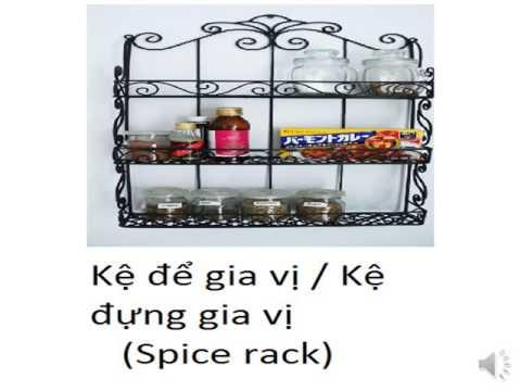 Learn Vietnamese: Kitchen area and Kitchenware