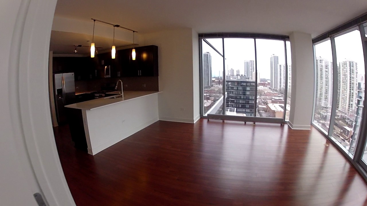 Old Town Chicago Apartments   1225 Old Town   3 Bedroom   Apt #1407   GoPro  Tour