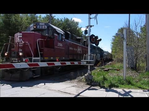 Amtrak Vemonter, Vermont Railway RDBD, BDRD, & NECR 500