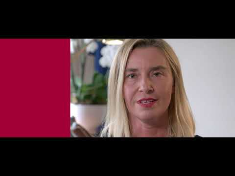 Rector of the College of Europe Federica MOGHERINI - APPLY NOW