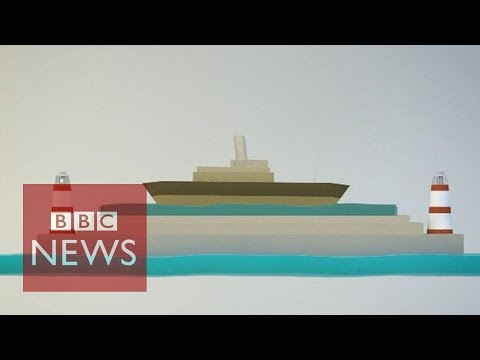 How the Panama Canal was built - BBC News