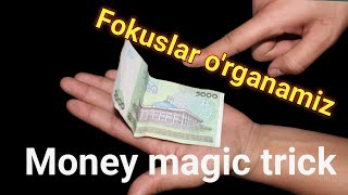 СГИБАНИЕ КУПЮР (ФОКУС), MONEY MAGIC TRICKS REVEALED, BUKLANADIGON PUL FOKUS