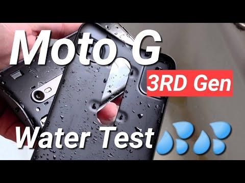 Moto G 3rd Gen Water Test Fail?