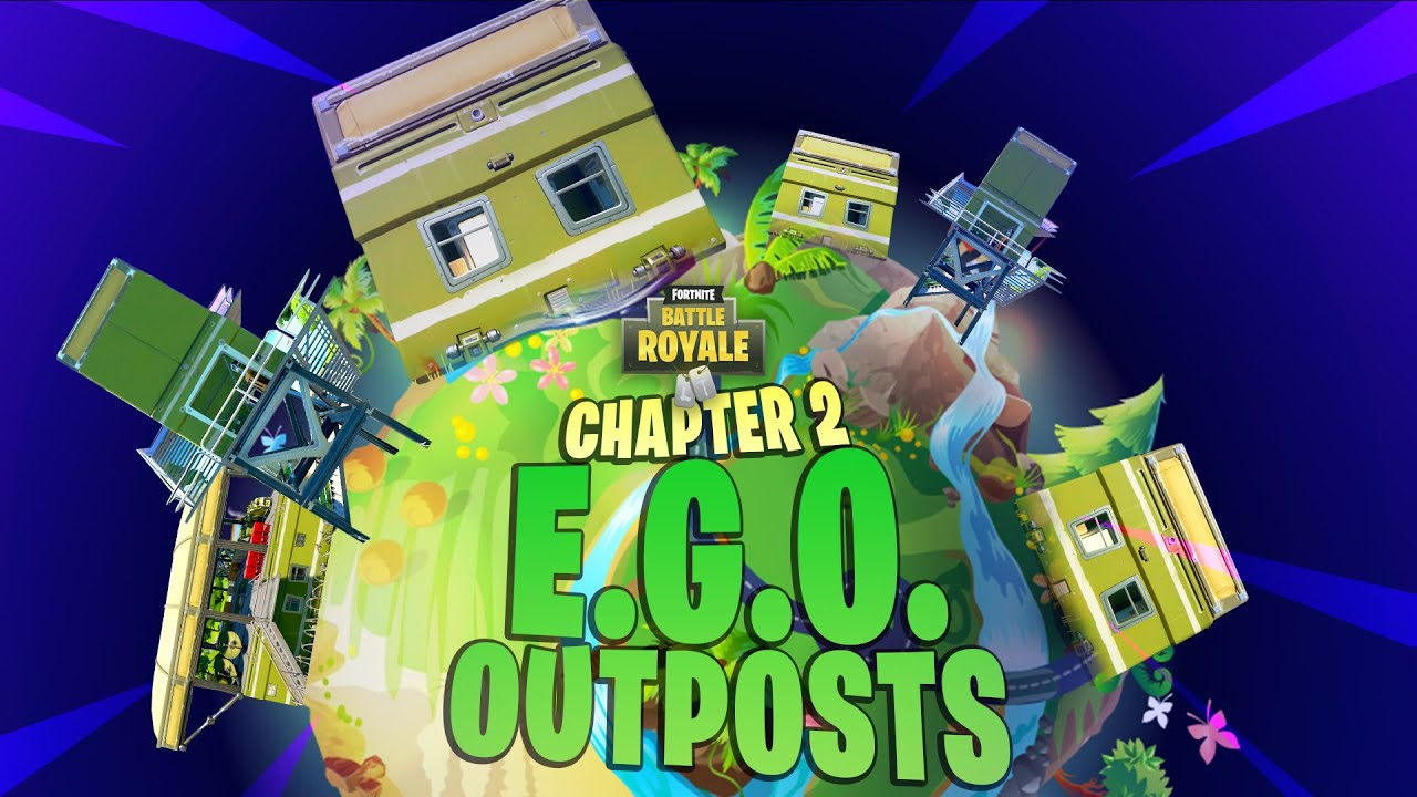 All E G O Outpost Locations In Fortnite Chapter 2 Forged In Slurp Week 2 Challenge
