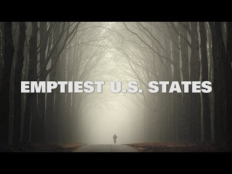 Top Ten Emptiest US States in 2014