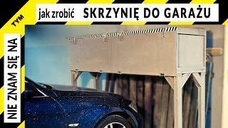 Jak zrobić skrzynię do garażu na miejsce parkingowe (z palet)