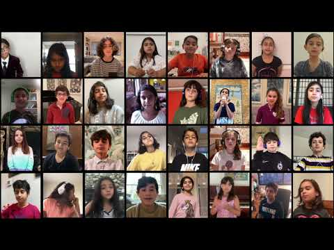 Jomjomak Barge-e Khazoon  — Pardis for Children's Virtual Performance by Choir 2 (Fall 2020)