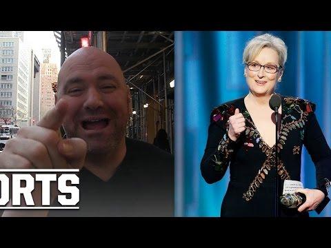 Dana White Fires Back at Meryl Streep